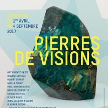 Exposition PIERRES DE VISIONS 1/04 - 4/09 2017