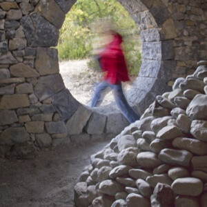 Refuge d'Art Les Bains Thermaux, Andy Goldsworthy, collection Musée Gassendi