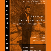 Affiche lecture performance