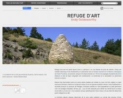 Site Refuge d'art.fr