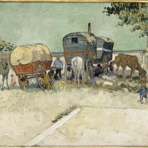 Les roulottes Vincent Van Gogh au Musée Gassendi